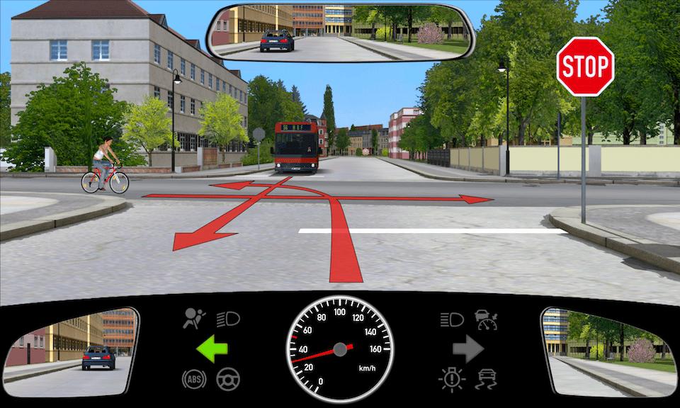 Stoppstraße-ohne-Haltelinie