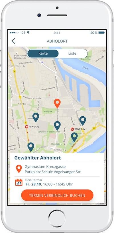 Fahrstunde Buchen mit der 123FAHRSCHUL App