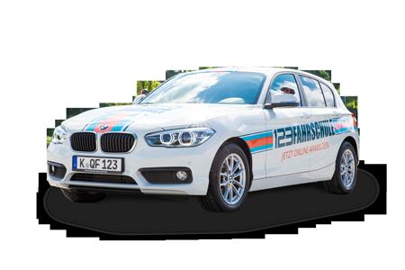 BMW 1er Freigestellt 123FAHRSCHULE