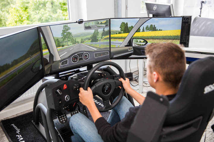 Fahrschule Koeln simulator 1