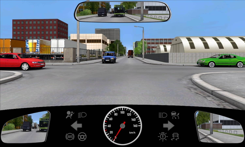 Alle Fahrzeuge stehen schon einige Sekunden an der Kreuzung. Wie sollten Sie sich in dieser Situation verhalten?