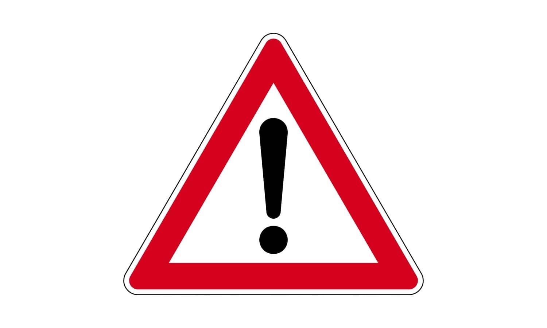 Sie fahren außerorts an diesem Verkehrszeichen vorbei. In welcher Entfernung ist die Gefahrstelle zu erwarten?