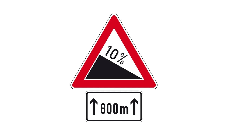 Was kommt nach diesen Verkehrszeichen?