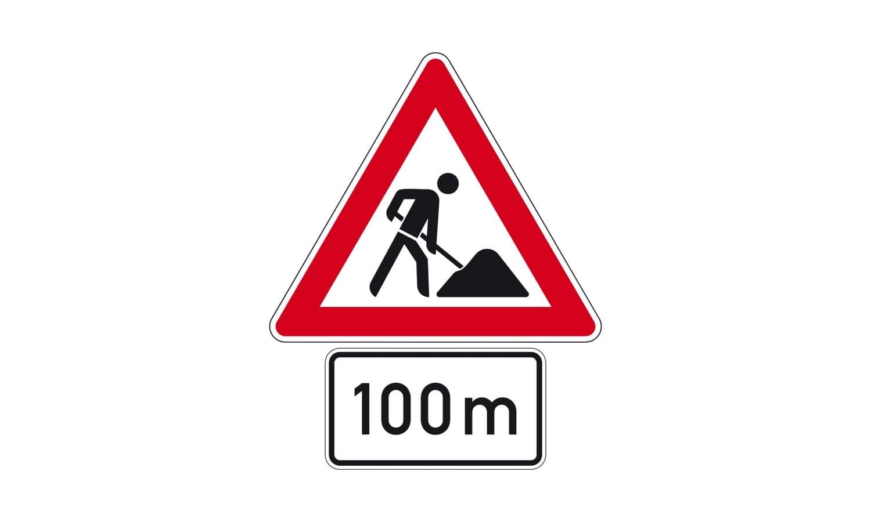 Was erwartet Sie bei dieser Verkehrszeichenkombination?