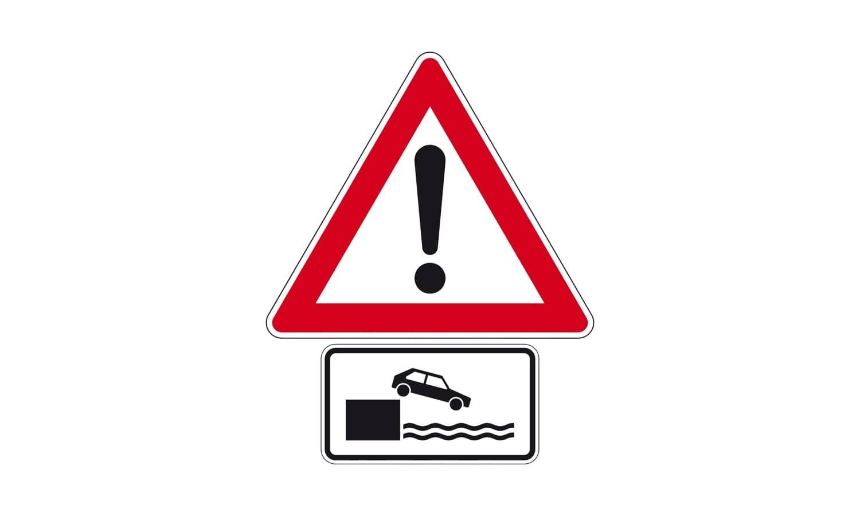 Was haben Sie bei dieser Verkehrszeichenkombination zu beachten?