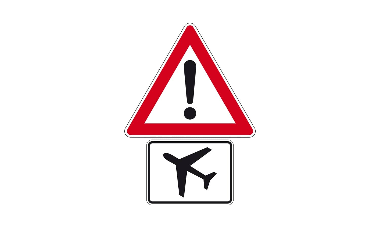 Womit müssen Sie bei dieser Verkehrszeichenkombination rechnen?