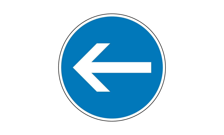 Wie verhalten Sie sich bei diesem Verkehrszeichen?
