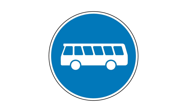 Welche Fahrzeuge dürfen den so gekennzeichneten Sonderfahrstreifen benutzen?