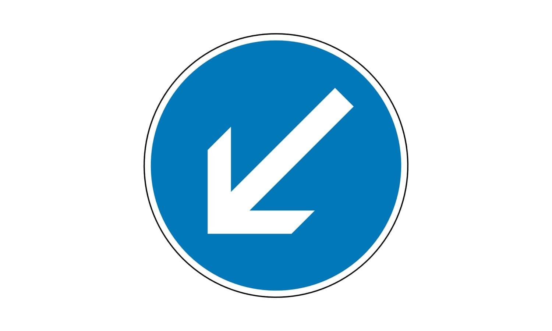 Was gilt bei diesem Verkehrszeichen?