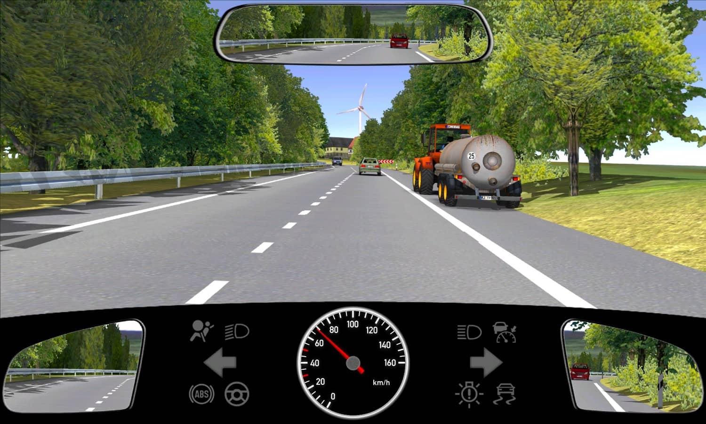 Sie nähern sich den abgebildeten Fahrzeugen. Wie verhalten Sie sich?