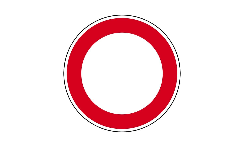Was ist ab diesem Verkehrszeichen richtig?