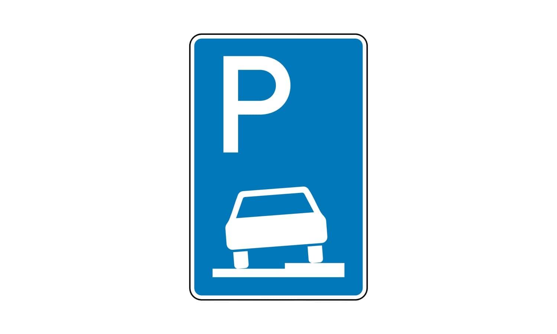 Wie darf hier mit Fahrzeugen bis 2,8 t zulässiger Gesamtmasse geparkt werden?