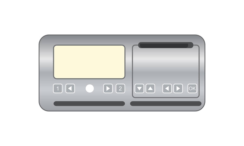 Was wird mit diesem Fahrtenschreiber (Kontrollgerät) aufgezeichnet?
