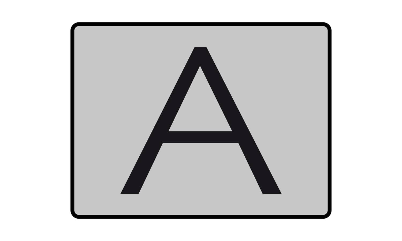 Was bedeutet diese Tafel?